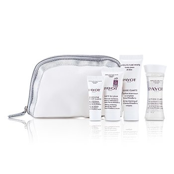 Payot Kit Absolute Pure White Kit: Loção 30ml +  Mousse Clarte 25ml + Clarte Du Jour 15ml + Concentre Anti-soif Clarte 10ml  4pcs