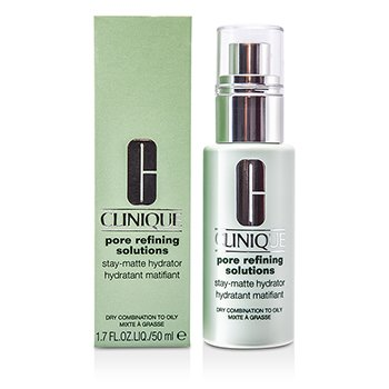 Clinique Pore Refining Solutions Stay-Matte Hydrator (Pele Seca Mista a Oleosa)  50ml/1.7oz