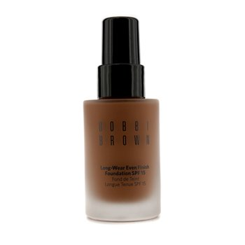 Bobbi Brown Long Wear Even Finish Foundation SPF 15 - Alas Bedak - # 8 Walnut  30ml/1oz