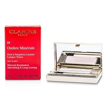 Clarins Ombre Minerale Smoothing & Long Lasting Mineral Eyeshadow - # 03 Petal  2g/0.07oz
