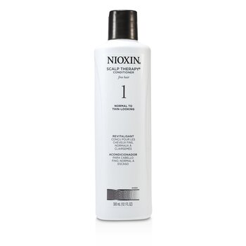 Nioxin System 1 Scalp Therapy Conditioner For Fine Hair, Normal to Thin-Looking Hair  300ml/10.1oz