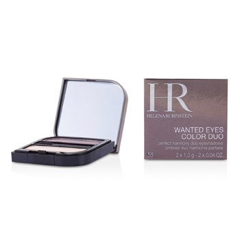 Helena Rubinstein Wanted Eyes Color Duo - No. 55 Seducing Pink & Sexy Plum  2x1.3g/0.04oz