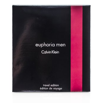Calvin Klein Euphoria Seyahat Sürümü Kofre: EDT Sprey 100ml/3.4oz + Stik Deodorant 75g/2.6oz  2pcs