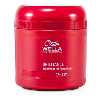 Wella Maska do włosów farbowanych Brilliance Treatment (For Colored Hair)  150ml/5oz