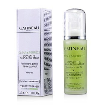 Gatineau Koncentrat do twarzy regulujący sebum do skóry tłustej i mieszanej Clear & Perfect Sebo-Regulating Concentrate (For Oily/ Combination Skin)  30ml/1oz
