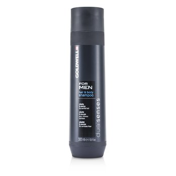 Goldwell Dual Senses For Men Champú Para Cabello y Cuerpo (Para Cabello Normal)  300ml/10.1oz