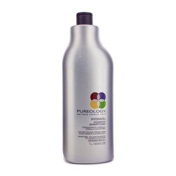 Pureology Hydrate Shampoo (For Dry Colour-Treated Hair) (New Packaging)  1000ml/33.8oz