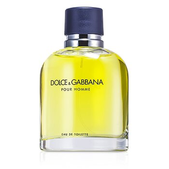 Dolce & Gabbana Pour Homme Eau De Toilette Spray (New Version)  125ml/4.2oz