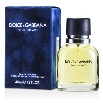 Dolce & Gabbana Pour Homme Eau De Toilette Spray (New Version)  40ml/1.3oz