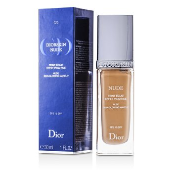 Christian Dior Base Diorskin Nude Skin Glowing Makeup SPF 15 - # 020 Light Beige  30ml/1oz