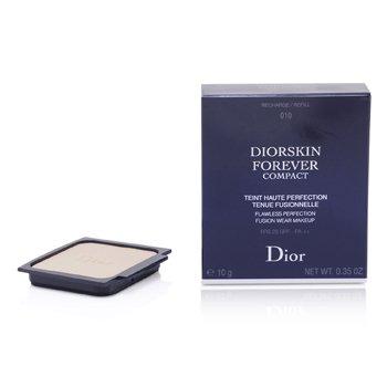 Christian Dior Diorskin Forever Компактная Безупречная Стойкая Основа SPF 25 Запасной Блок - #010 Слоновая Кость  10g/0.35oz