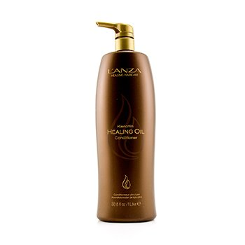Lanza Keratin Healing Oil Conditioner  1000ml/34oz