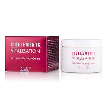 Bioelements Vitalization Rich Intensity Body Cream  236ml/8oz