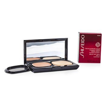 Shiseido Advanced Hydro Liquid Base Maquillaje Compacta SPF15 (Estuche + Recambio) - WB60 Natural Deep Warm Beige  12g/0.42oz