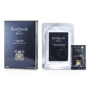 Evidens De Beaute The Integral Face & Neck Mask  4x33ml/1.11oz