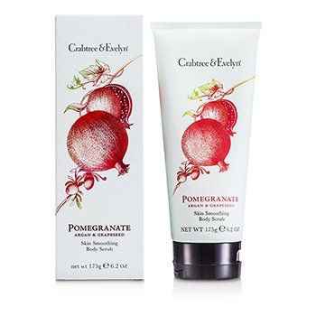 Crabtree & Evelyn Pomegranate, Argan & Grapeseed Body Scrub  175g/6.2oz