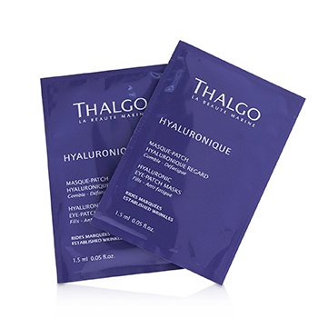 Thalgo Hyaluronic Parche Mascarilla Ojos  8x2patchs