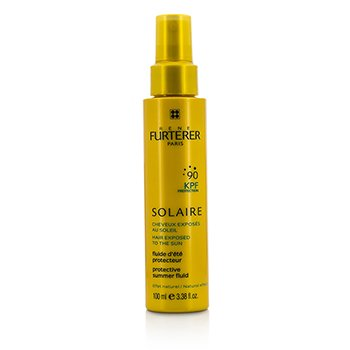 Rene Furterer Solaire Waterproof KPF 90 Protective Summer Fluid - Natural Effect (High Protection For Hair Exposed To The Sun)  100ml/3.38oz