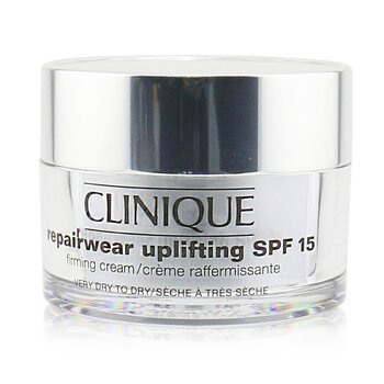 Clinique Repairwear Uplifting Firming Cream SPF 15 (Very Dry to Dry Skin)  50ml/1.7oz