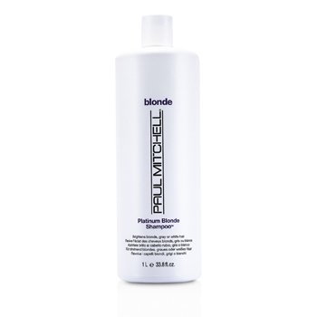 Paul Mitchell Blonde Platinum Blonde Shampoo (Brighten Blonde, Gray or White Hair)  1000ml/33.8oz