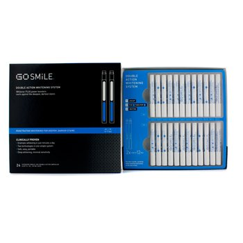GoSmile Double Action Whitening System (12 Days of Treatment)  24pcs