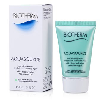 Biotherm Aquasource 48H Deep Hydration Replenishing Gel (Normal/kombinasjonshud)  30ml/1oz
