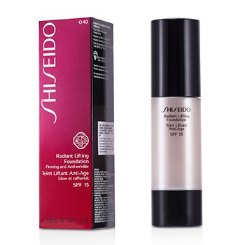 Shiseido Radiant Base Maquillaje Alisadora SPF 15 - # O40 Natural Fair Ochre  30ml/1.2oz