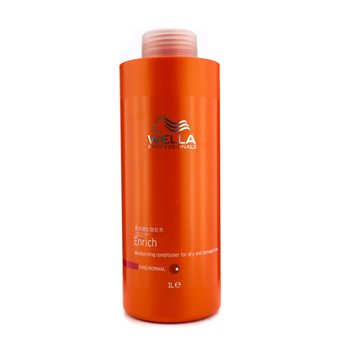 Wella Condicionador Enrich Moisturizing danificados  & secos (fino/ e normal)  1000ml/33.8oz