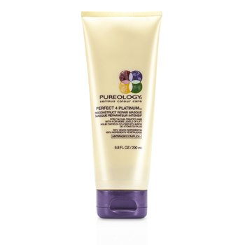 Pureology Perfect 4 Platinum Reconstruct Repair Masque (For Colour-Treated Hair)  200ml/6.8oz