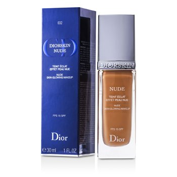 Christian Dior Diorskin Nude Skin Glowing Maquillaje SPF 15 - # 032 Rosy Beige  30ml/1oz