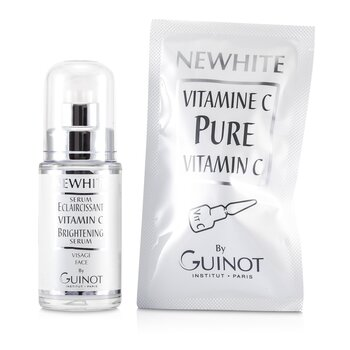 Guinot Serum Blanqueador Newhite Vitamin C (Serum Blanqueador 23.5ml/0.8oz + Vitamina C Pure 1.5g/0.05oz)  2pcs