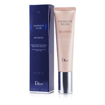 Christian Dior Diorskin Nude BB Creme Nude Glow Skin Perfecting Beauty Balm SPF 10 - # 001 (Light)  30ml/1oz