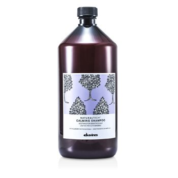 Davines Natural Tech Calming Shampoo (For Sensitive Scalp)  1000ml/33.8oz