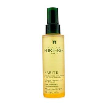 Rene Furterer Karite Intense Aceite Nutritivo (Para Cabello y/o Cuero Cabelludo Muy Seco, Dañado)  100ml/3.38oz