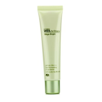 Origins Dr. Andrew Mega-Bright SPF 40 PA+++ Skin Illumating UV Protector  40ml/1.4oz