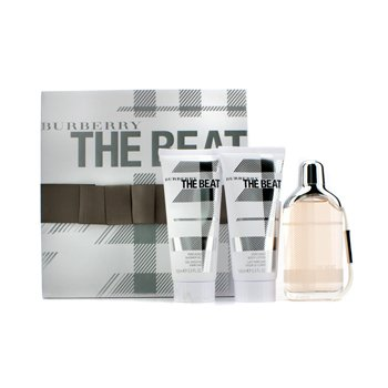Burberry The Beat Coffret: Eau De Parfum Spray 75ml/2.5oz + Body Lotion 100ml/3.3oz + Shower Gel 100ml/3.3oz  3pcs