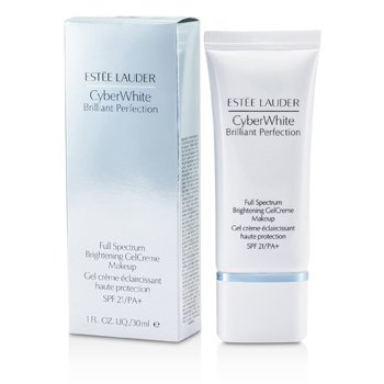 Estee Lauder Cyber White Brilliant Perfection Full Spectrum Brightening Gel Creme Makeup SPF 21 - # 03 Cool Vanilla  30ml/1oz