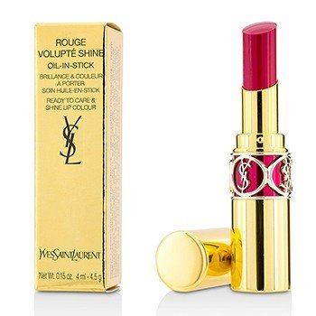 Yves Saint Laurent Rouge Volupte Brillo de Labios - # 5 Fuchsia In Excess/ Fuchsia Chiffon  4.5g/0.15oz