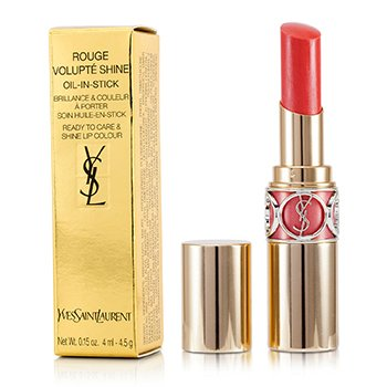 Yves Saint Laurent Rouge Volupte Brillo de Labios - # 15 Corail Intuitive/ Corail Spontini  4.5g/0.15oz
