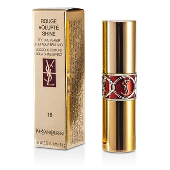 Yves Saint Laurent Rouge Volupte Brillo de Labios - # 16 Orange Impertinent  4.5g/0.15oz