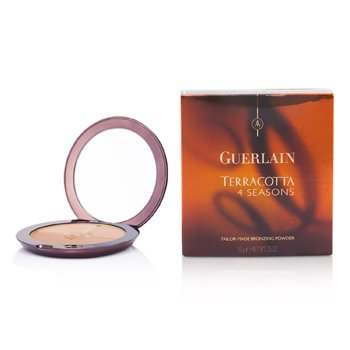 Guerlain Terracotta 4 Seasons Tailor Made Bronzing Pudder - # 04 Moyen - Blondiner  10g/0.35oz