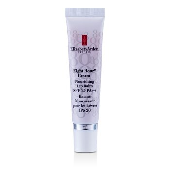 Elizabeth Arden Eight Hour na Krema Nourishing na Balsamong Panlabi SPF 20  14.8ml/0.5oz