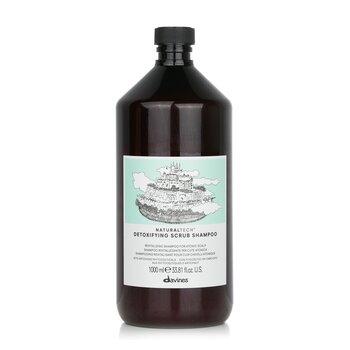 Davines Natural Tech Detoxifying Scrub Shampoo (For Atonic Scalp)  1000ml/34oz