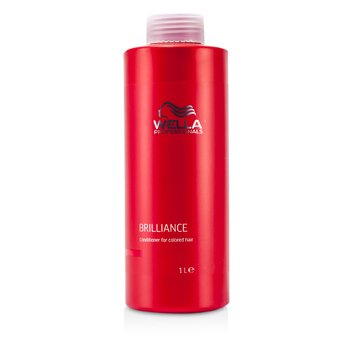 Wella Brilliance Acondicionador (Para Cabello Teñido)  1000ml/33.8oz