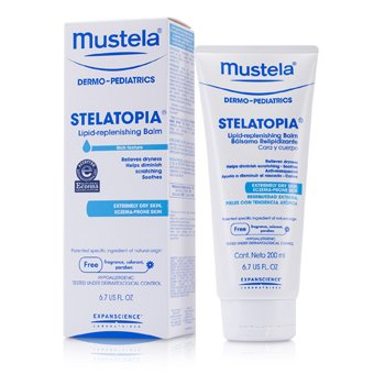 Mustela Stelatopia Lipid-Replenishing Balm (For Extremely Dry Skin)  200ml/6.7oz