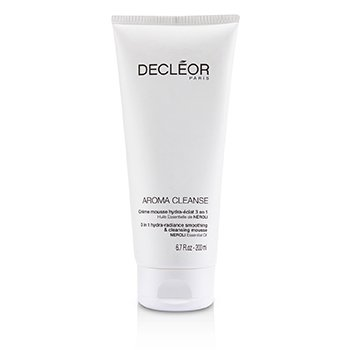 Decleor Aroma Cleanse 3 in 1 Hydra-Radiance Smoothing & Cleansing Mousse  200ml/6.7oz