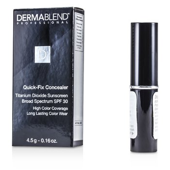 Dermablend Quick Fix Concealer Broad Spectrum SPF 30 (High Coverage, Long Lasting Color Wear) - Medium  4.5g/0.16oz