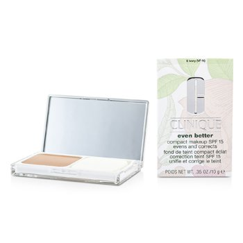 Clinique Even Better Compact Makeup SPF 15 - # 06 Ivory (VF-N)  10g/0.35oz