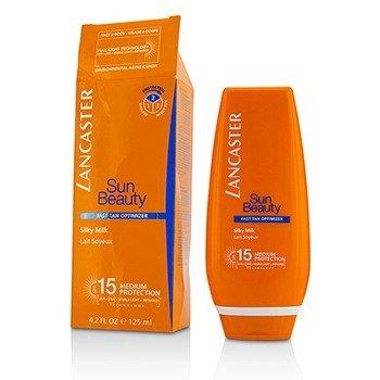 Lancaster Sun Beauty Silky Milk Fast Tan Optimizer SPF15 - Face & Body (Box Slightly Damaged)  125ml/4.2oz