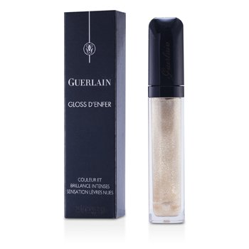 Guerlain Gloss D'enfer Maxi Shine Brillo de Labios Color & Brillo Intenso - # 400 Gold Tchlack  7.5ml/0.25oz